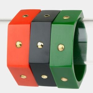 Jewelry - 💢BRAND NEW💢 Stackable Block Bangle