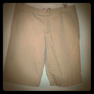 Old Navy Pants - Reduced! Old navy khaki Bermuda shorts