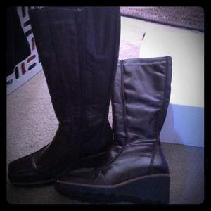 Brown boots, Aldo brand, worn 2 times