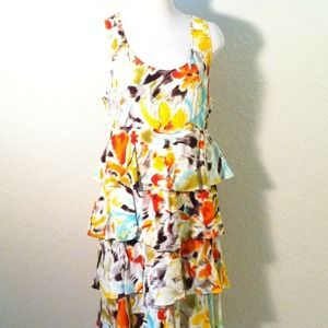 Dresses & Skirts - Multicolor 4-Layer Dress