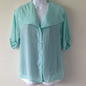 Tops - 💝Mint blouse