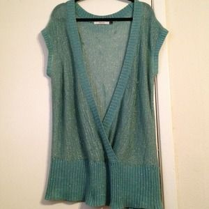 Old Navy Tops - Mint & Gold Knit Top