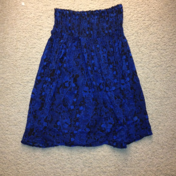 Urban outfitters royal blue and black tunic