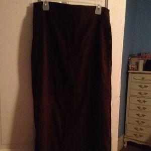 Dresses & Skirts - 💜*Reduced***Women's long brown skirt