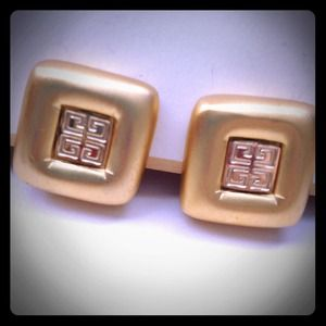 Givenchy Jewelry - Givenchy vintage clip on earrings