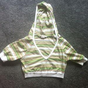 Tops - Half hoodie.