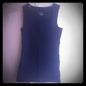 Tops - Navy blue tank