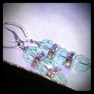 Jewelry - brand new mint Swarovski crystal earrings