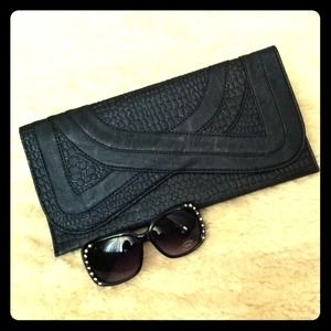 Clutches & Wallets - Textured Clutch