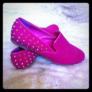 khey's pick Shoes - Girly Spike Loafers