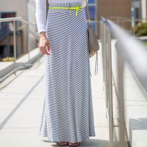 GAP Skirts - Stripe Maxi Skirt