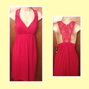 Dresses & Skirts - Just reduced!  NWT Pink Sundress!