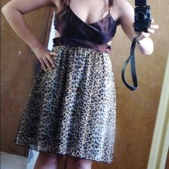 Forever 21 Dresses - Reduced Price! Leopard Print Dress