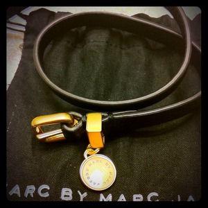 Marc by Marc Jacobs leather wrap bracelet