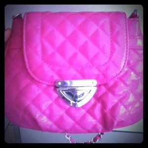 Icing Handbags - Brand New Pink crossbody purse