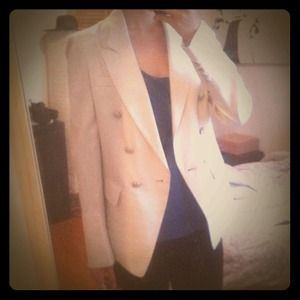 mojo s phine ny Jackets & Blazers - Mojo S. Phine • Light Blazer in Beige/Cream