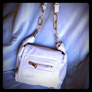 Marc Jacobs Handbags - RESERVED @amypeix Marc Jacobs Ivory Leather Mercer