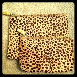 2 pc Ballard design wallet/clutch set