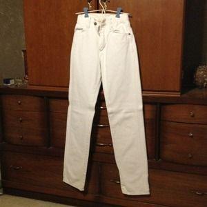 Wrangler Jeans - White Jeans, Cowboy's tight