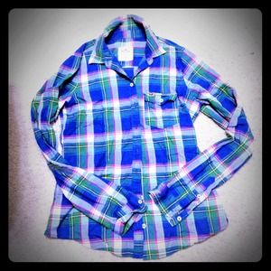 Hollister Tops - Hollister preppy button up!