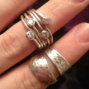 Jewelry - Gorgeous thumb ring and spoon ring bundle !!!!
