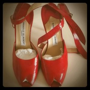 Vintage Red Manolos