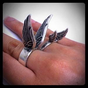 03183 Jewelry - Fly with Me Ring Set