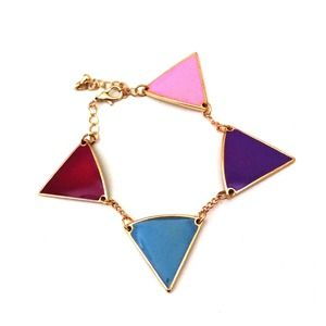 08143 Jewelry - Triangle Pastel Bracelet