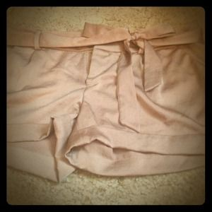 Other - Gold satin shorts RESERVED