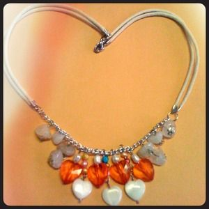 Accessories - Hearts Necklace