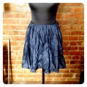 HALF OFF SALE | SHIMMERING Navy Skirt