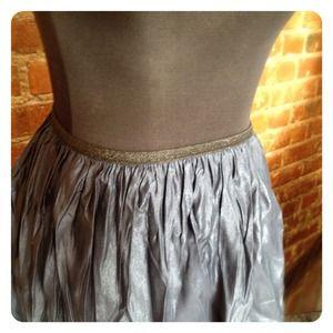 Charlotte Russe Skirts - HALF OFF SALE | SHIMMERING Navy Skirt
