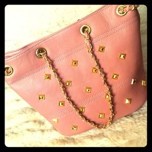 khey's pick Handbags - 💢Please READ Description💢Studded Blush Handbag