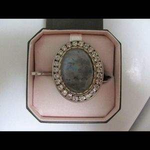 NewHUGE!! juicy couture crystal&stone bling ring