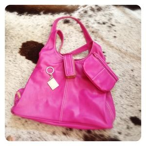 Fuchsia Pink NINE WEST Handbag
