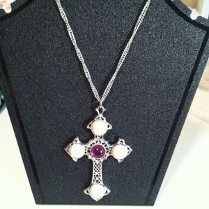 Jewelry - Vintage Avon cross pendant