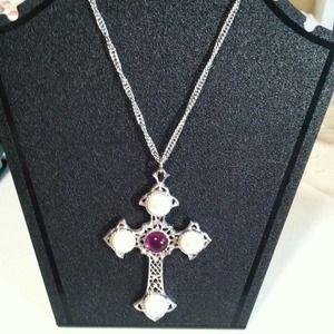 Vintage Avon cross pendant