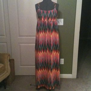 Xhilaration Dresses & Skirts - NWT Colorful Maxi Dress