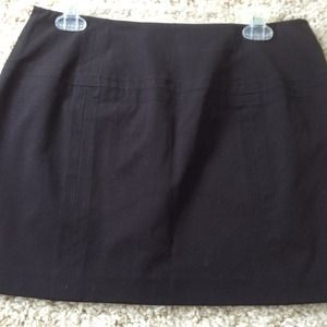 Express black Skirt w/ accent stitched detailing