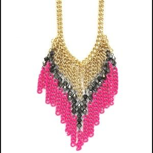 Madison Rowe Jewelry - Neon Pink Necklace