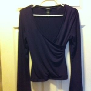 Reserved @4conkeys faux wrap top express