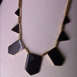 *RESERVED* House of Harlow inspired geo-necklace