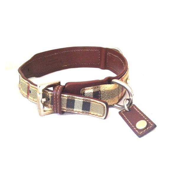 Burberry Dog Collar Authentic