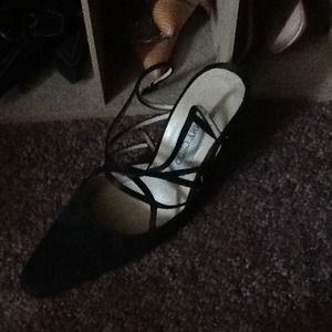 Reserved Jimmy Choo strappy wedding shoes