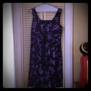 Dresses & Skirts - Purple and Black dress. Sale!!!