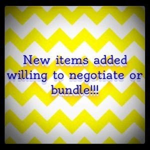 Other - New items willing to negotiate!!!