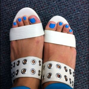 Worn Twice: Michael Kors Hole Punched Sandal