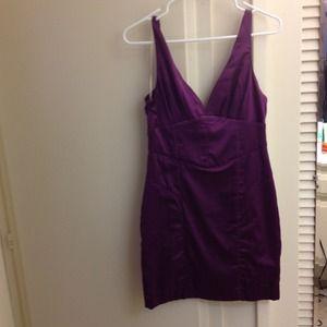 Brand new purple satinlike dress!
