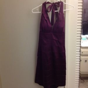 Dresses & Skirts - Brand new purple halter dress!