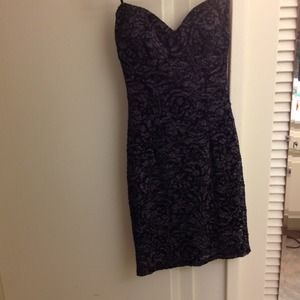 Dresses & Skirts - Black and grey sweetheart dress